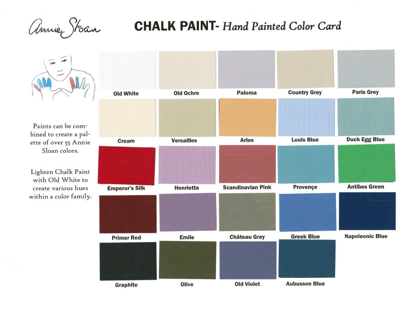 Sloan Paint Colors